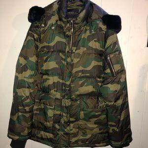 Warm camo puffer jacket ‼️